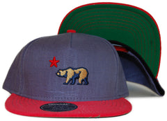 <!--2012011013-->Official - 'Cali Bear Dolo' [(Blue) Snap Back Hat]