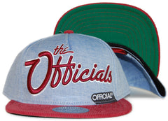 Official - 'Officials - Cham x Burgs' [(Light Blue) Snap Back Hat]