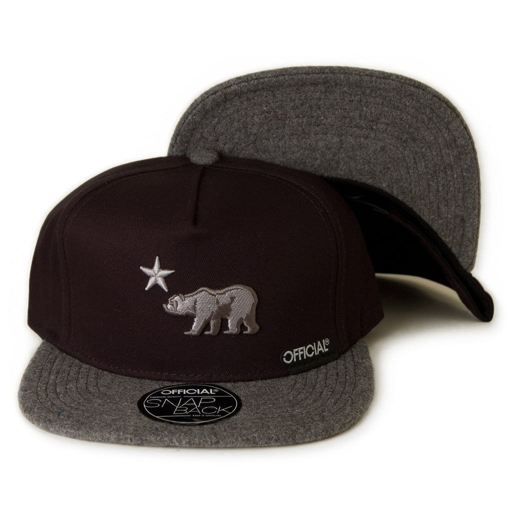 <!--020131112061143-->Official - 'Cali Dolo Iced' [(Black) Snap Back Hat]