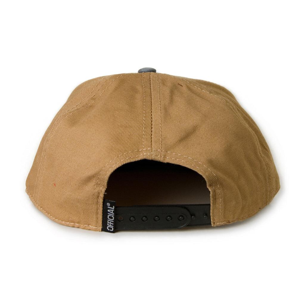 <!--020131112061139-->Official - 'Stay Skate' [(Light Brown) Snap Back Hat]