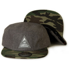 <!--020131112061145-->Official - 'Qogir' [(Dark Gray) Five Panel Camper Hat]