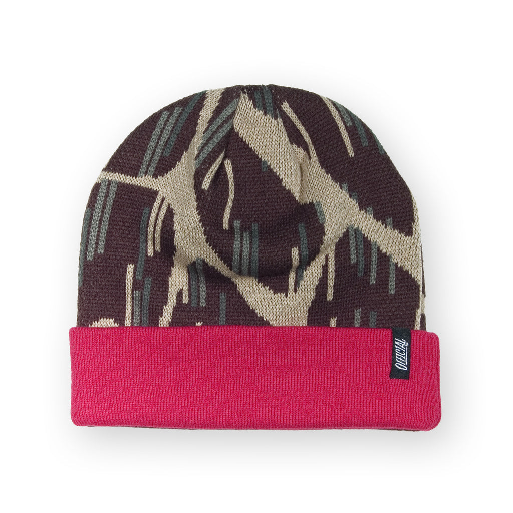<!--020131112061130-->Official - 'Giraffe Rain Red' [(Brown) Winter Beanie Hat]