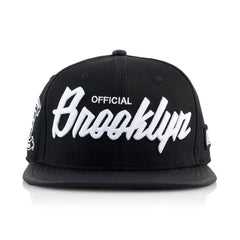 <!--020151117071453-->Official - 'Brooklyn' [(Black) Snap Back Hat]
