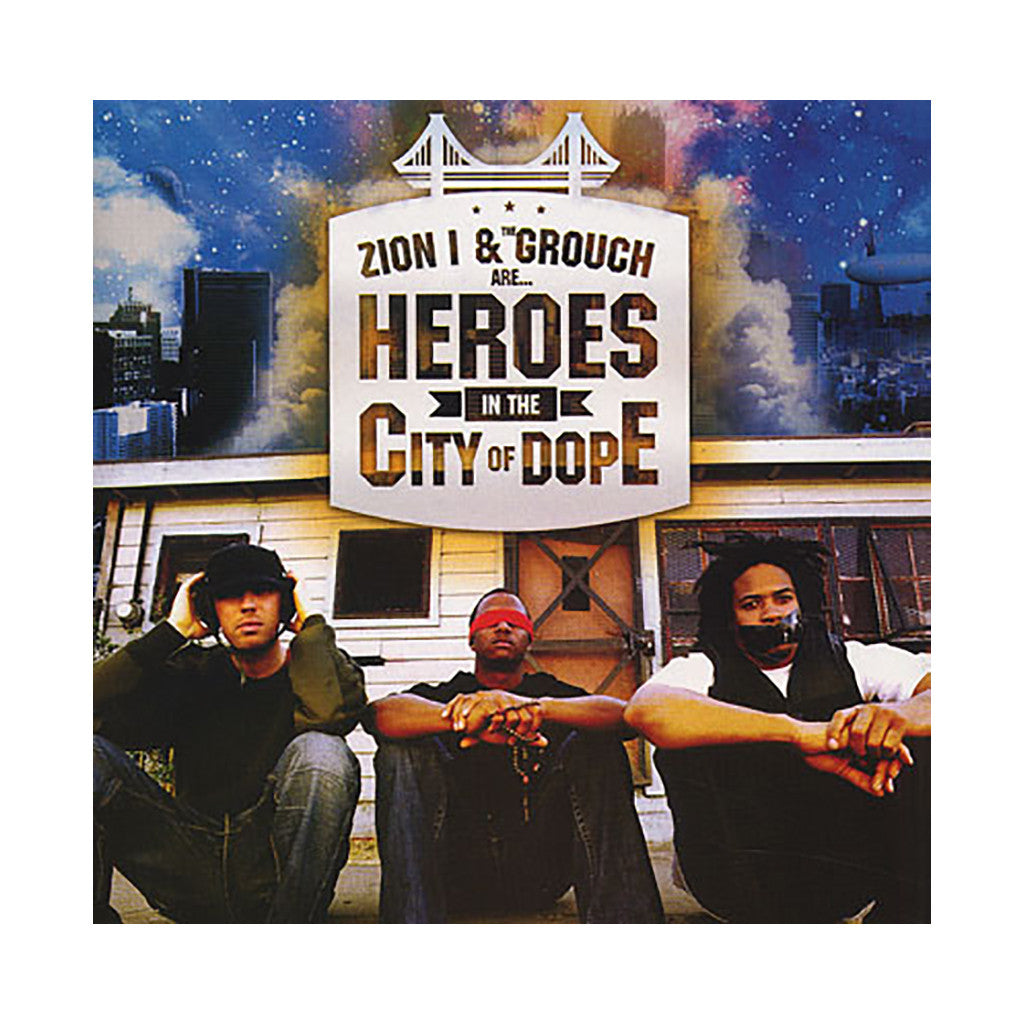 <!--020070116008233-->Zion I - 'Heroes In The City Of Dope' [(Black) Vinyl [2LP]]