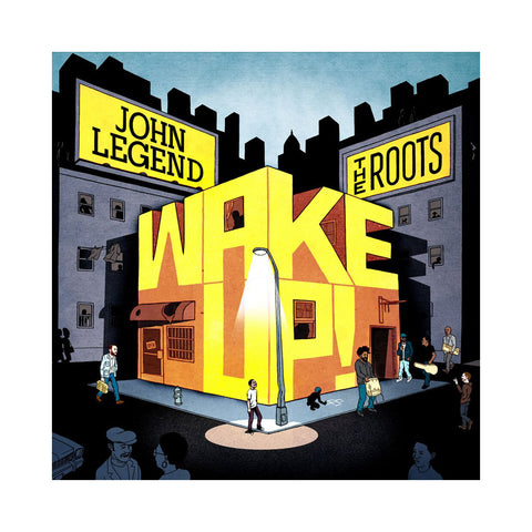 John Legend & The Roots - 'Wake Up!' [(Orange) Vinyl [2LP]]