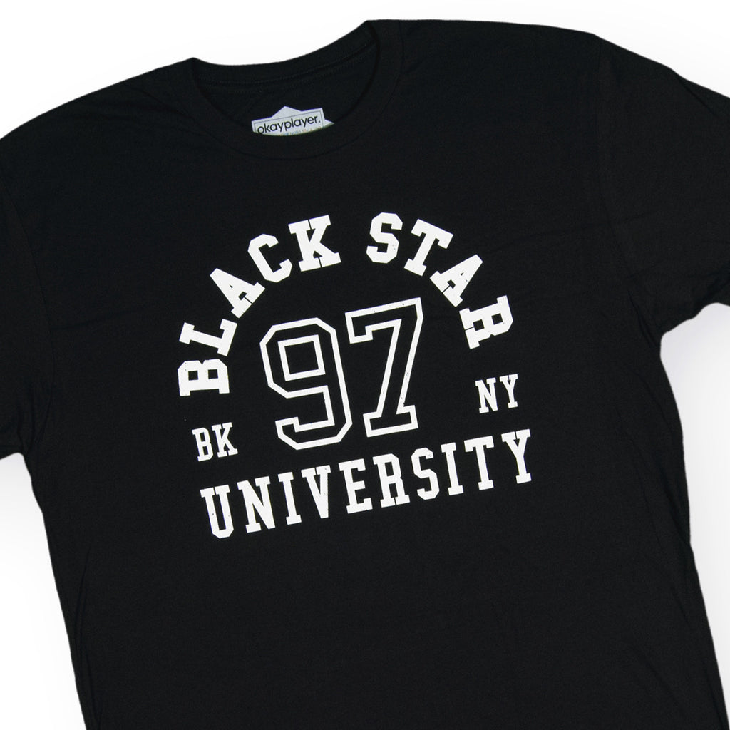 <!--020160906074111-->Black Star - 'Black Star University' [(Black) T-Shirt]