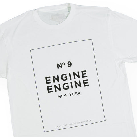 Okayplayer - 'Engine Engine No. 9' [(White) T-Shirt]