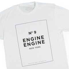 <!--020160906074068-->Okayplayer - 'Engine Engine No. 9' [(White) T-Shirt]
