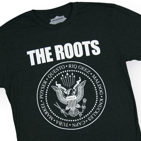 The Roots - 'The Roots-Mones' [(Black) T-Shirt]
