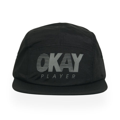Okayplayer - 'Sport' [(Black) Five Panel Camper Hat]