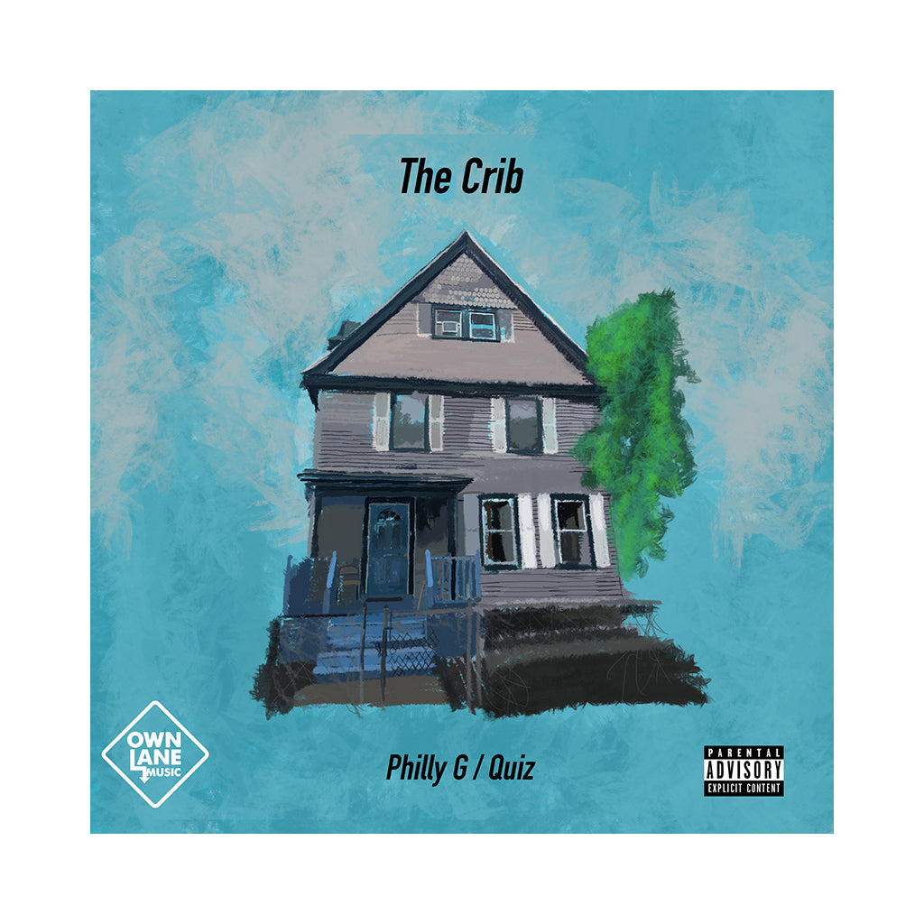 Philly G & Quiz - 'The Crib' [CD]