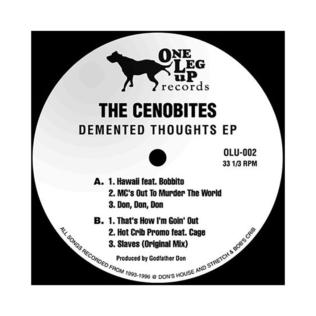 Cenobites - 'Demented Thoughts EP (1993-1996) (Heavy Pieces: 2 of 5)' [(Black) Vinyl EP]