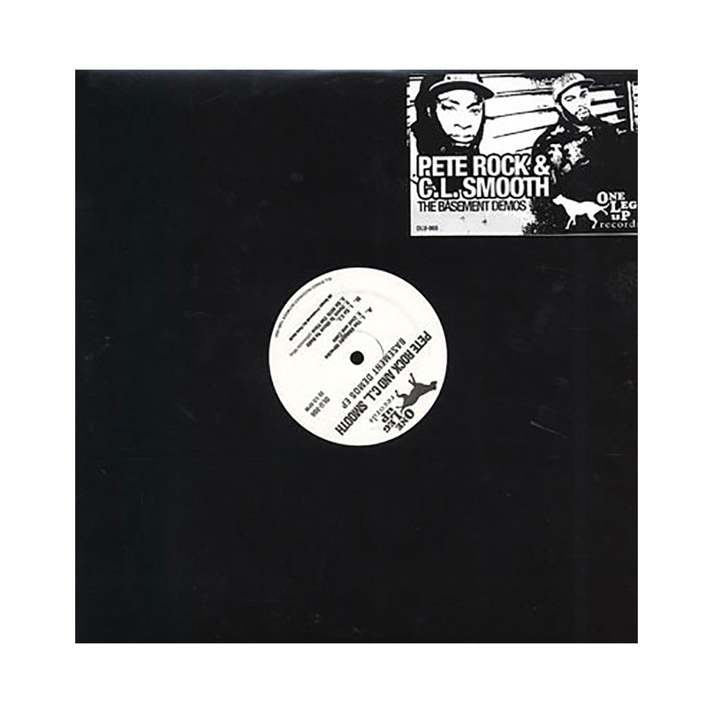 Pete Rock & CL Smooth - 'The Basement Demos EP (1990-1991) (Crispy Nuggets: 1 of 5)' [(Black) Vinyl EP]