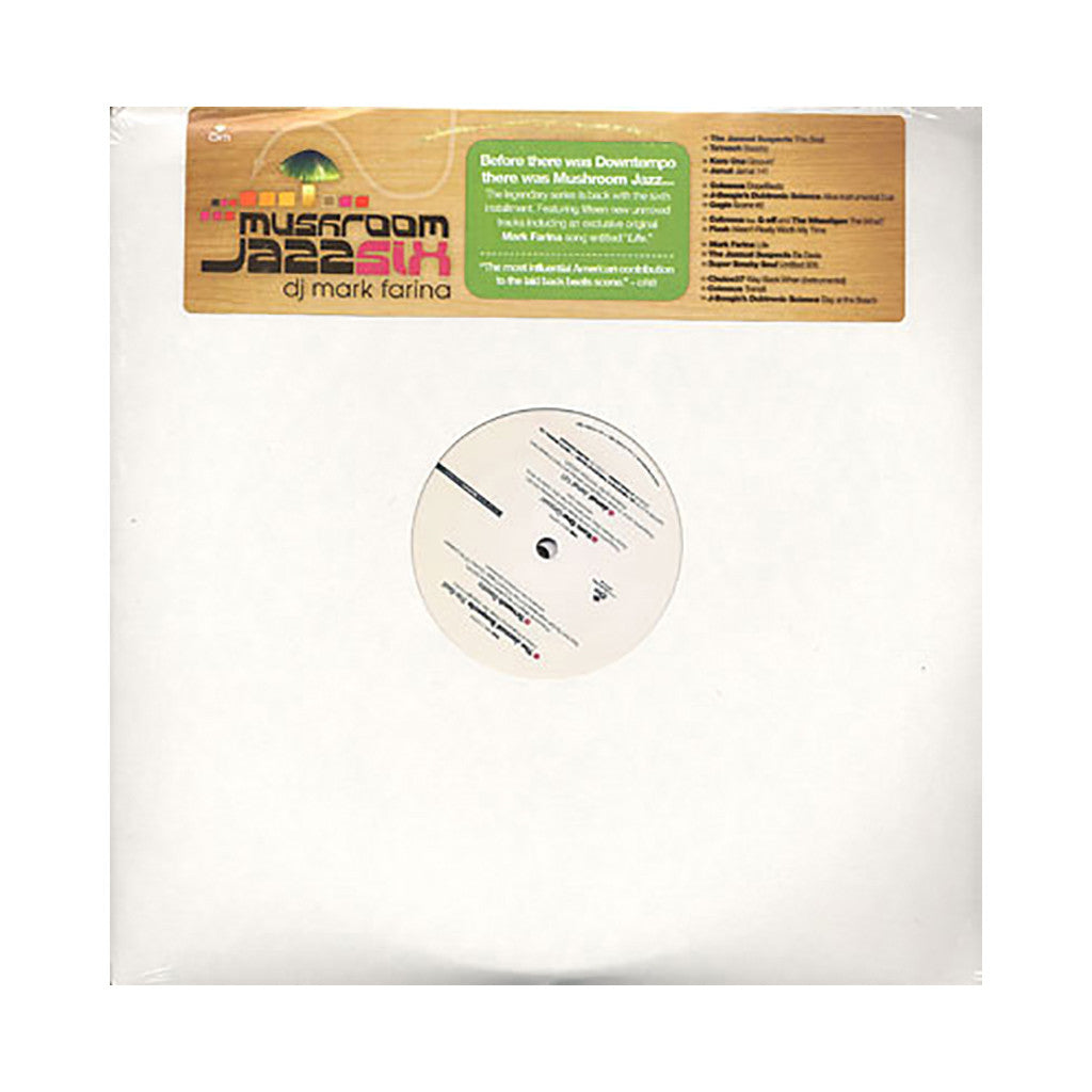 DJ Mark Farina - 'Mushroom Jazz Vol. 6' [(Black) Vinyl [3LP]]