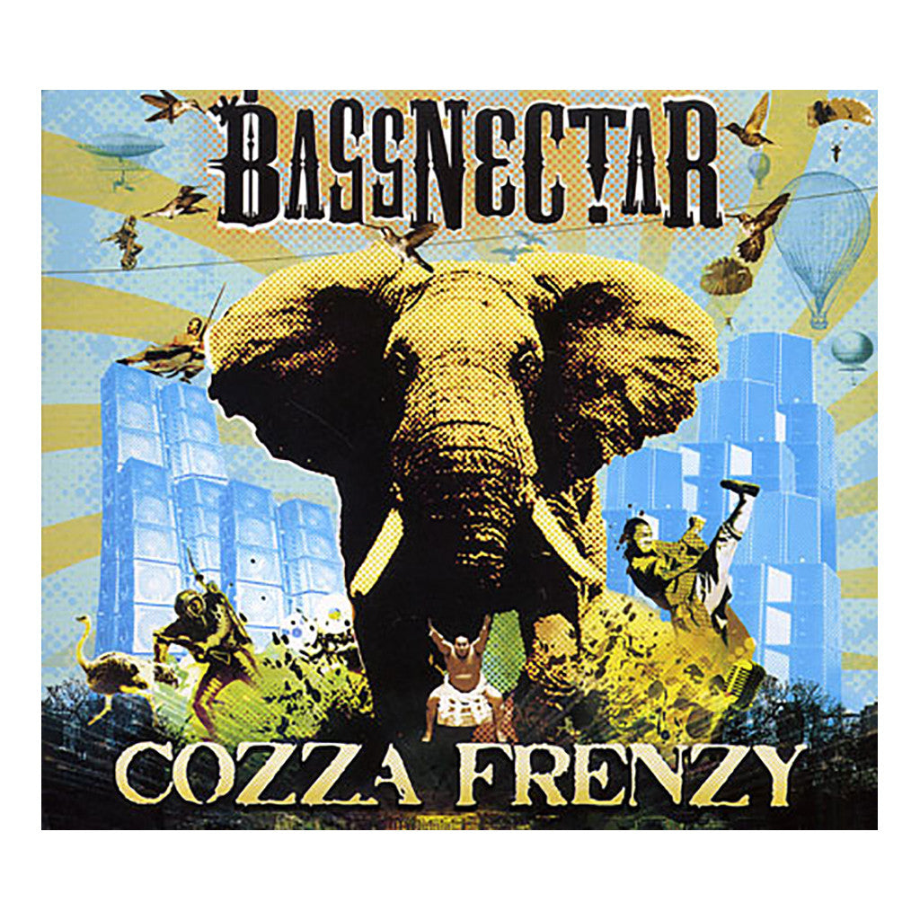 <!--020091027018203-->Bassnectar - 'Cozza Frenzy' [CD]