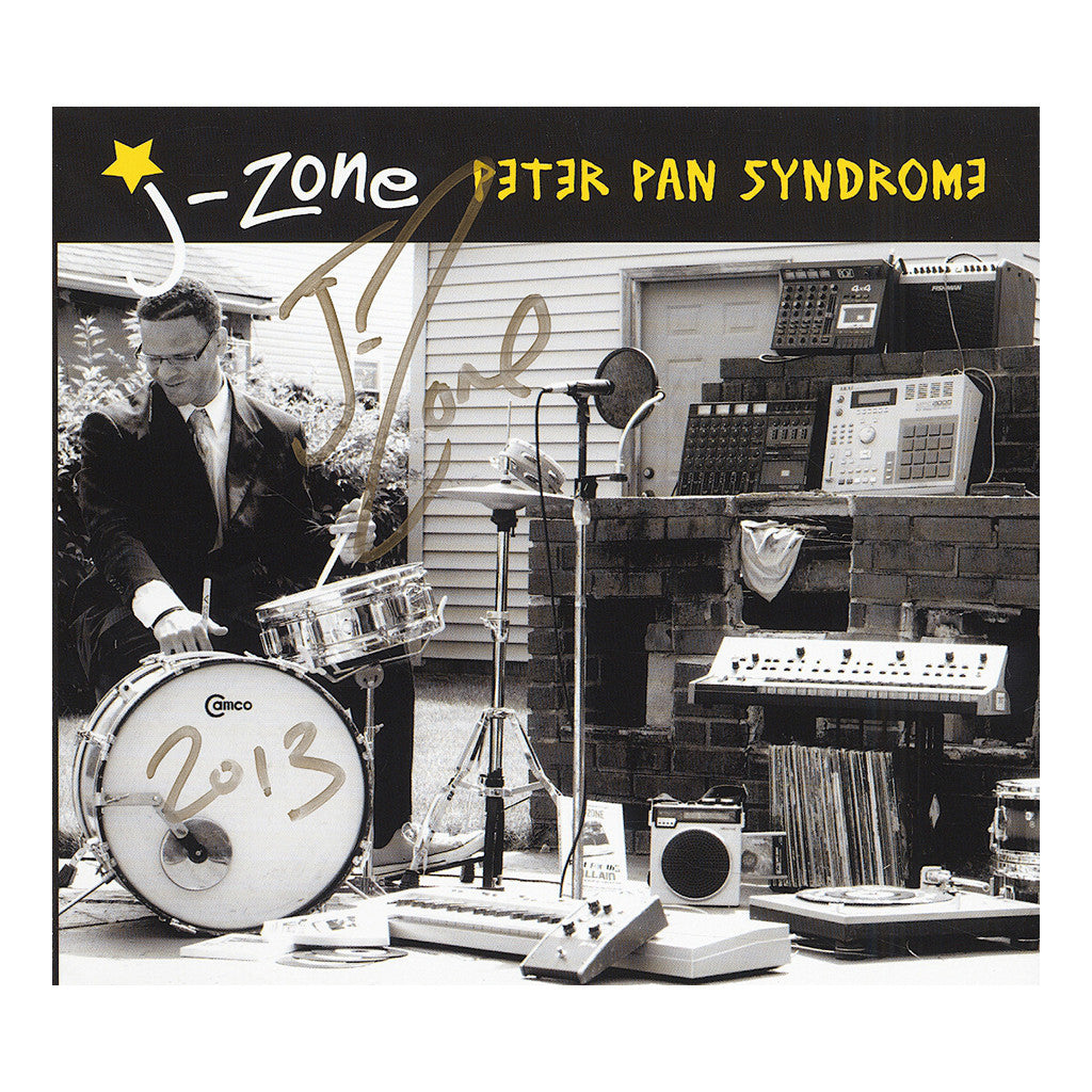 <!--020130910059132-->J-Zone - 'Peter Pan Syndrome' [CD]