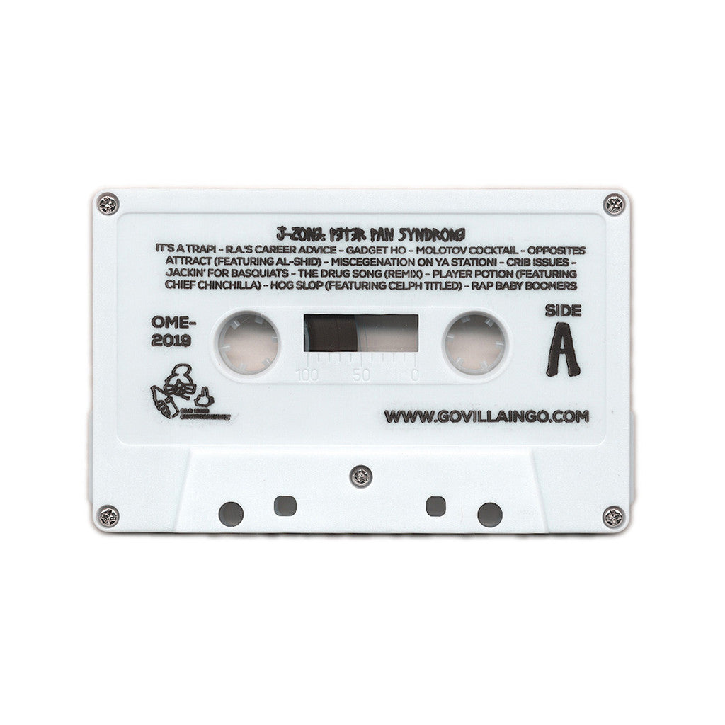 <!--020130924059326-->J-Zone - 'Peter Pan Syndrome' [(White) Cassette Tape]