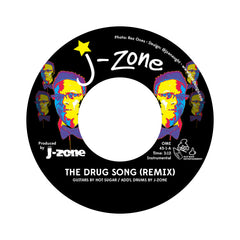 "<!--020121016050329-->J-Zone - 'The Drug Song (Remix)/ The Fox Hunt' [(Colored) 7"" Vinyl Single]"
