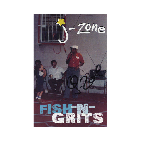 J-Zone - 'Fish-n-Grits' [(Clear Blue) Cassette Tape]