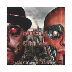 <!--020130312057286-->Rated R vs. Trilian - 'Audio Onslaught' [CD]