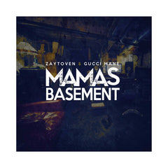 Zaytoven & Gucci Mane - 'Mama's Basement' [(Cocaine White & Black Splatter) Vinyl LP]