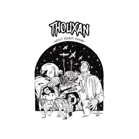 "[""Thouxan - 'Heavy Weight Champ' [(Gold) Vinyl LP]""]"