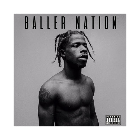 "[""Marty Baller - 'Baller Nation' [(White) Vinyl LP]""]"