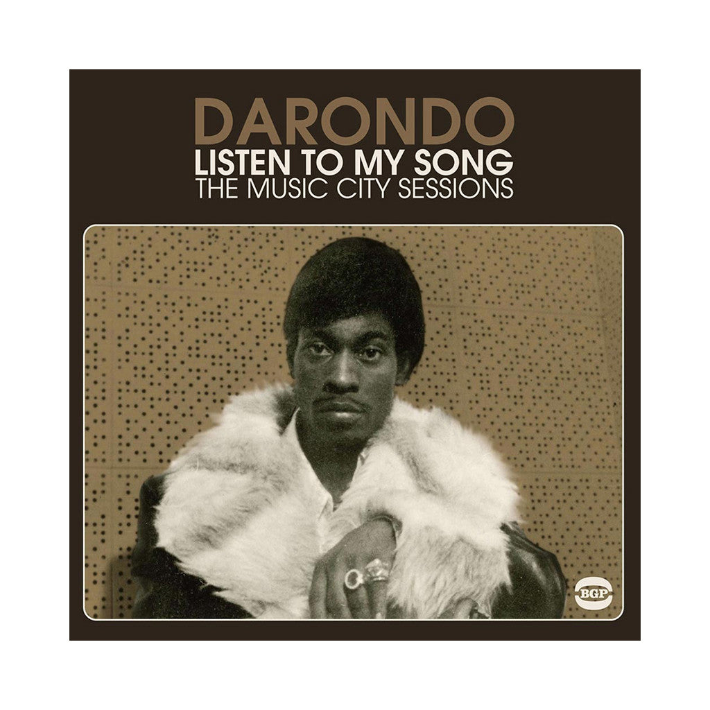 Darondo - 'Listen To My Song: The Music City Sessions' [CD]