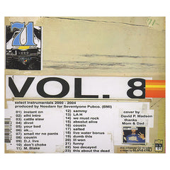 Odd Nosdam - 'Vol. 8: Select Instrumentals 2000-2004' [CD]