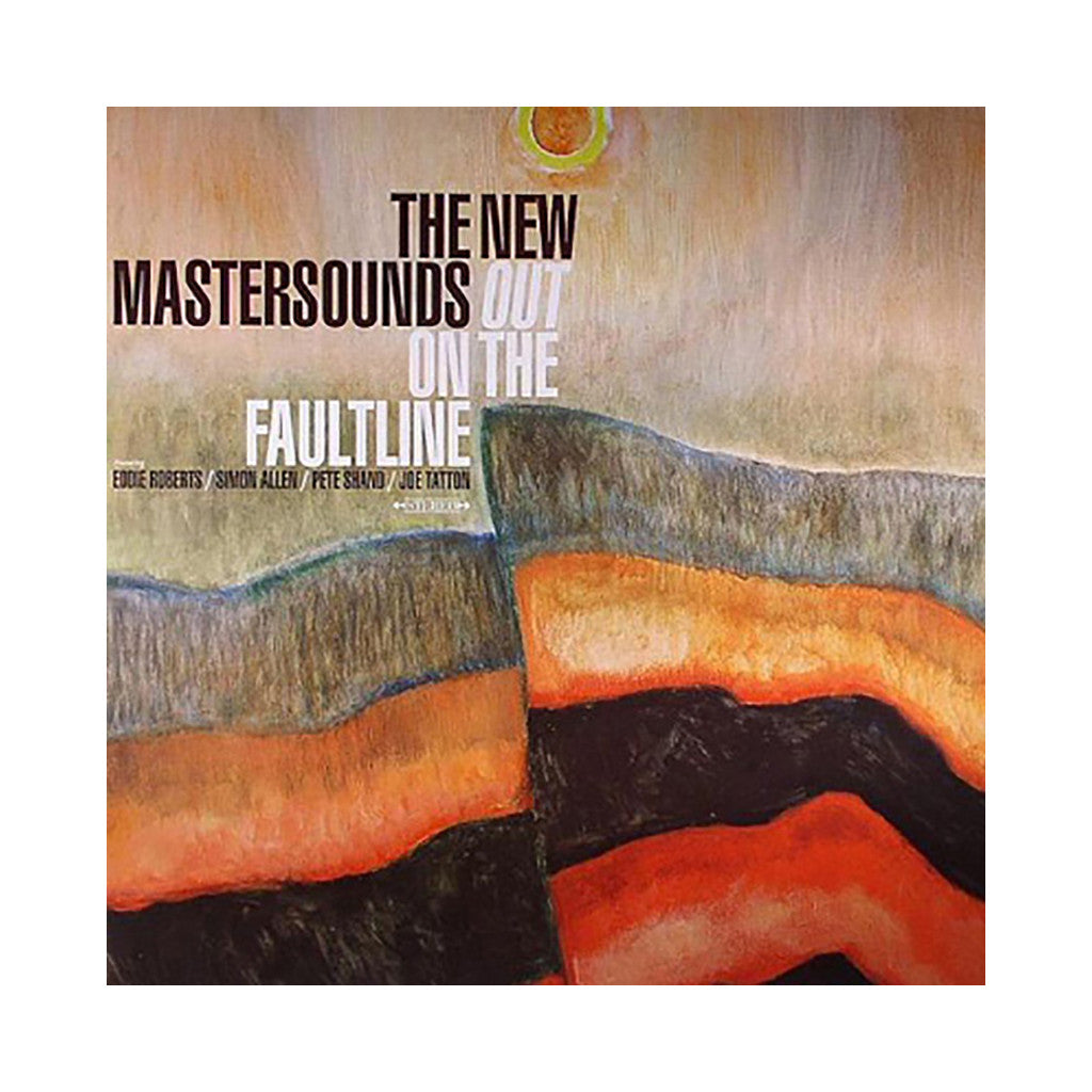 <!--020121106000768-->The New Mastersounds - 'Out On The Faultline' [(Black) Vinyl LP]