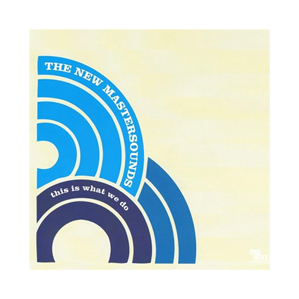 The New Mastersounds - 'This Is What We Do' [(Black) Vinyl LP]