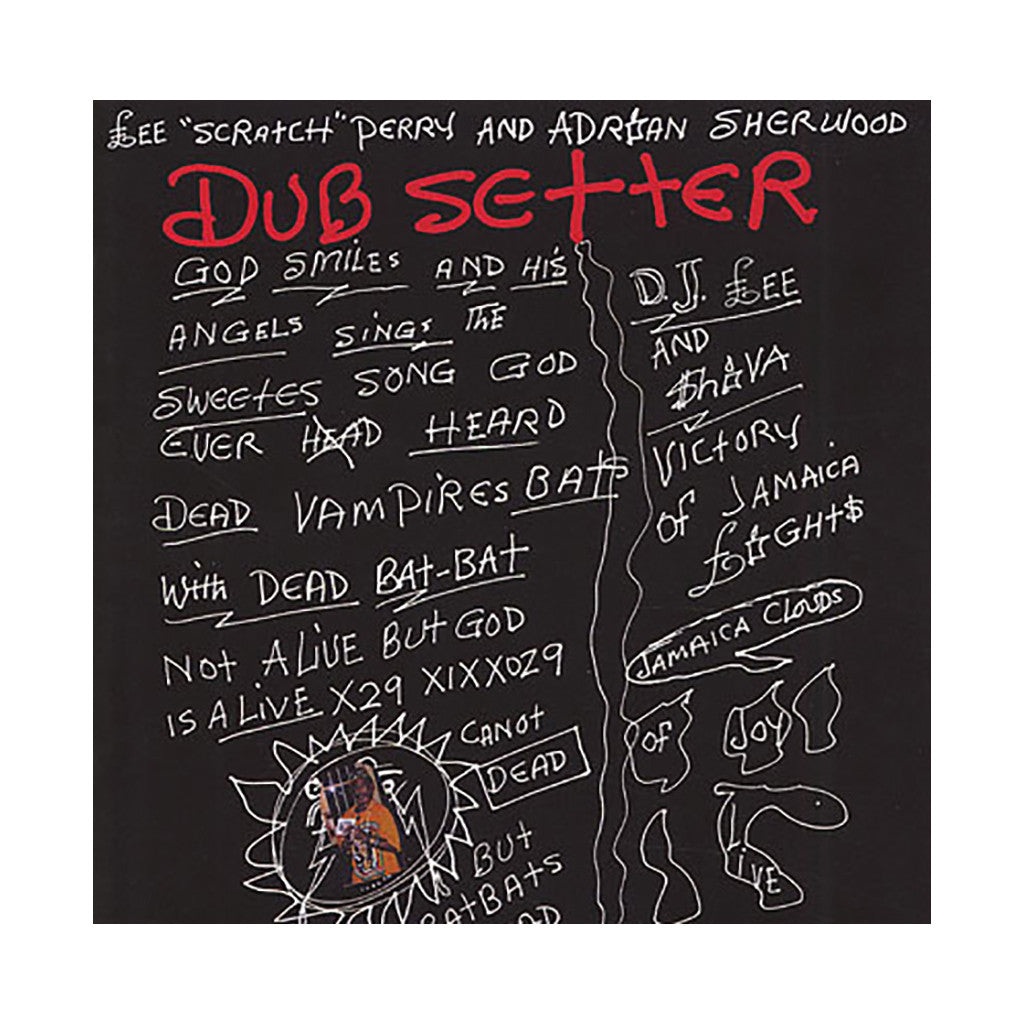 Lee Scratch Perry & Adrian Sherwood - 'Dub Setter' [(Black) Vinyl LP]