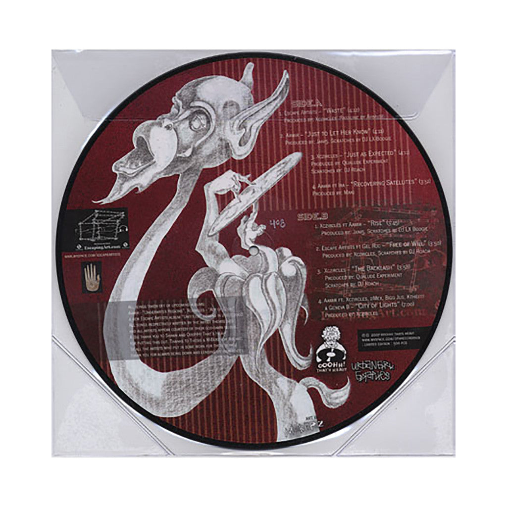 <!--020080708014325-->Escape Artists - 'Mass w/o Mass' [(Picture Disc) Vinyl EP]