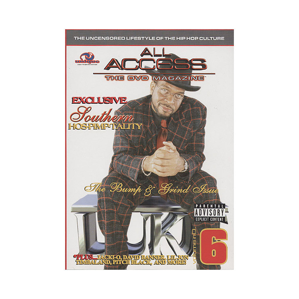 <!--020040629004780-->All Access - 'Vol. 6 (Luke On Cover)' [DVD]