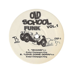 "<!--020050927005835-->Old School Funk (Johnny Kemp, Tom Browne, Evelyn Champagne King) - 'Vol. 01' [(Black) 12"" Vinyl Single]"