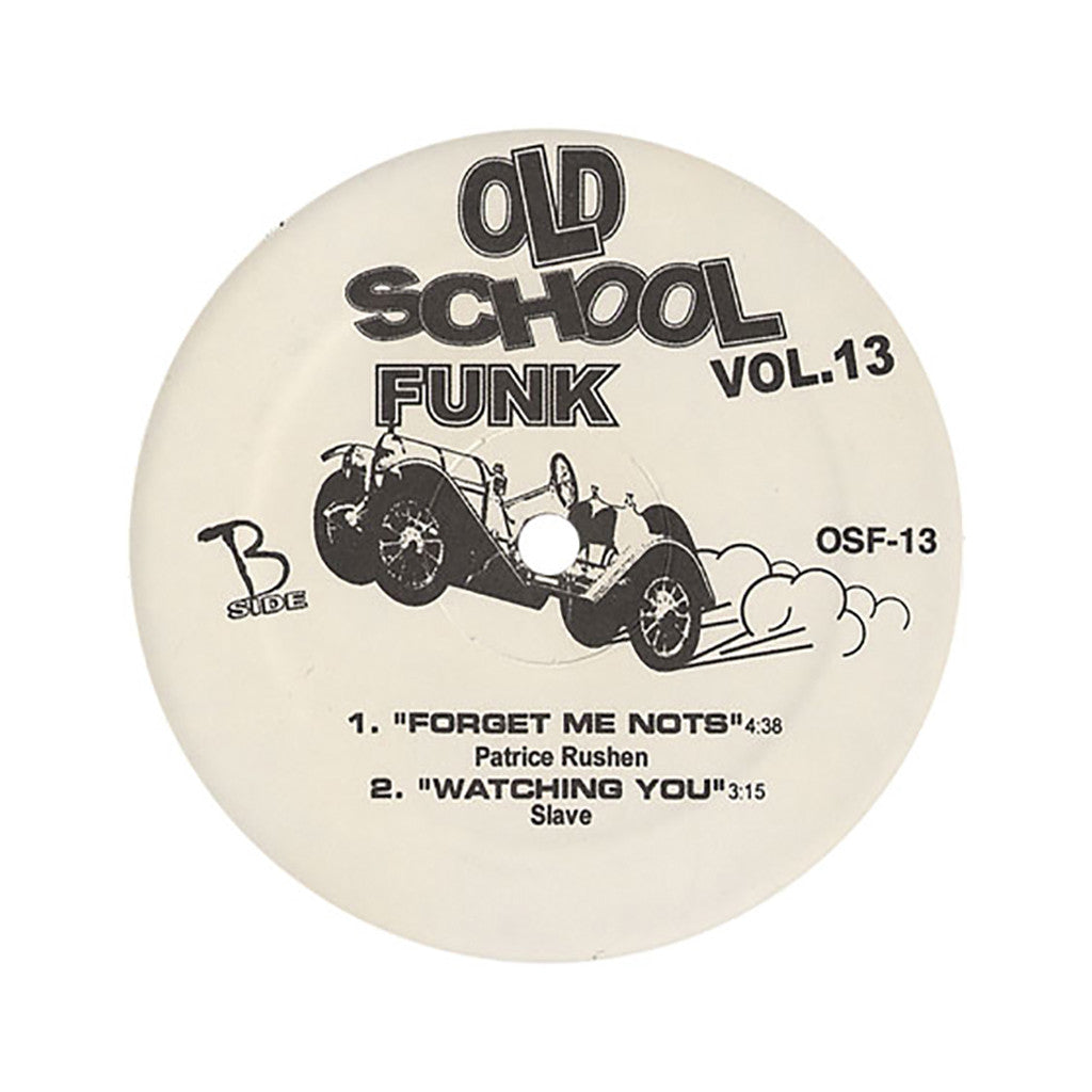 "<!--020050927005825-->Old School Funk (Rick James, Bootsy's Rubber Band, Patrice Rushen, Slave) - 'Vol. 13' [(Black) 12"" Vinyl Single]"