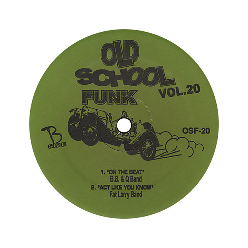 "Old School Funk (Aurra, Tyrone Brunson, B.B. & Q Band, Fat Larry Band) - 'Vol. 20' [(Black) 12"" Vinyl Single]"