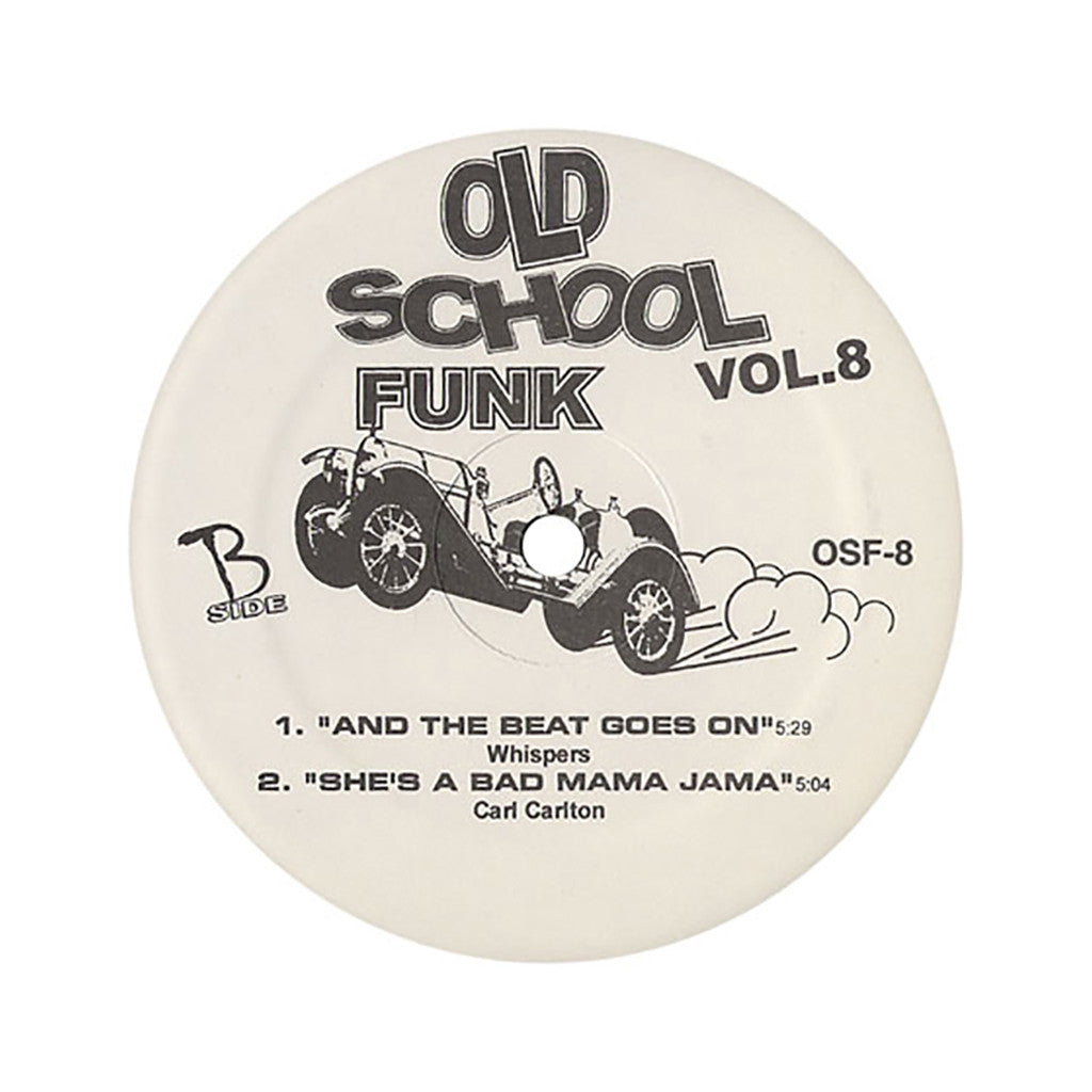 "Old School Funk (Chic, Whispers, Carl Carlton) - 'Vol. 08' [(Black) 12"" Vinyl Single]"