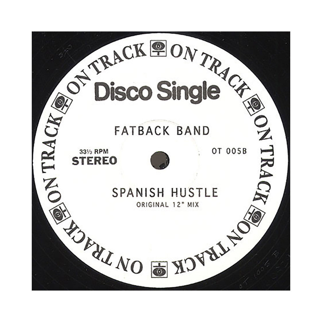 "<!--020060425006969-->Original Tropicana Steel Drum Band b/w Fatback Band (Kon & Amir Present) - 'Spanish Hustle (Kon Re-Edit)/ Spanish Hustle' [(Black) 12"" Vinyl Single]"