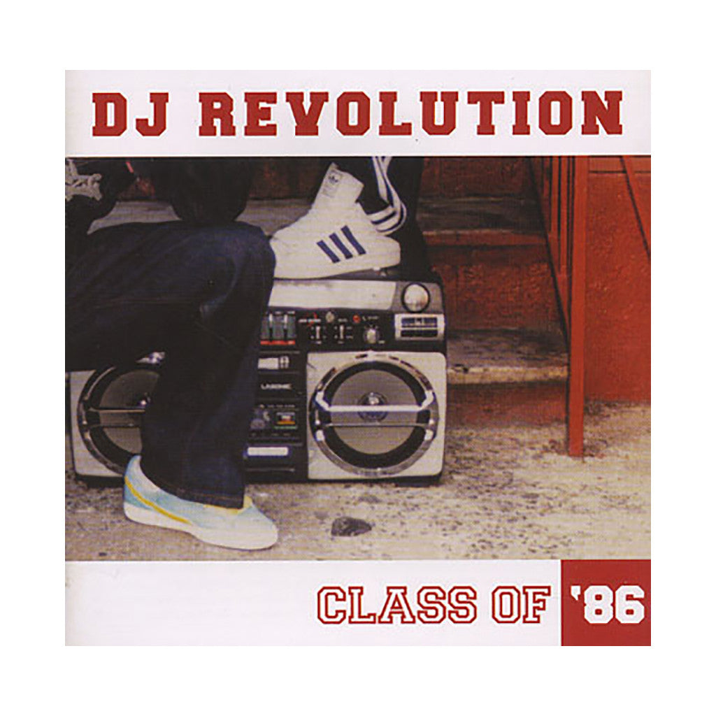 DJ Revolution - 'Class Of '86 (Best Of 1986)' [CD]