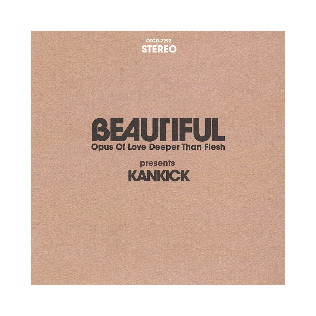 <!--020130226054144-->Kankick - 'Beautiful: Opus Of Love, Deeper Than Flesh' [CD]
