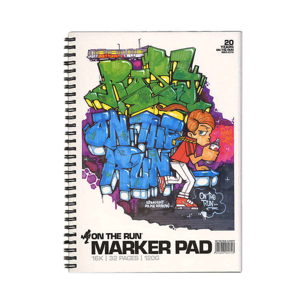 <!--020100706022300-->On The Run x Rosy One - 'Marker Pad 16K' & [Blank Sketch Book]