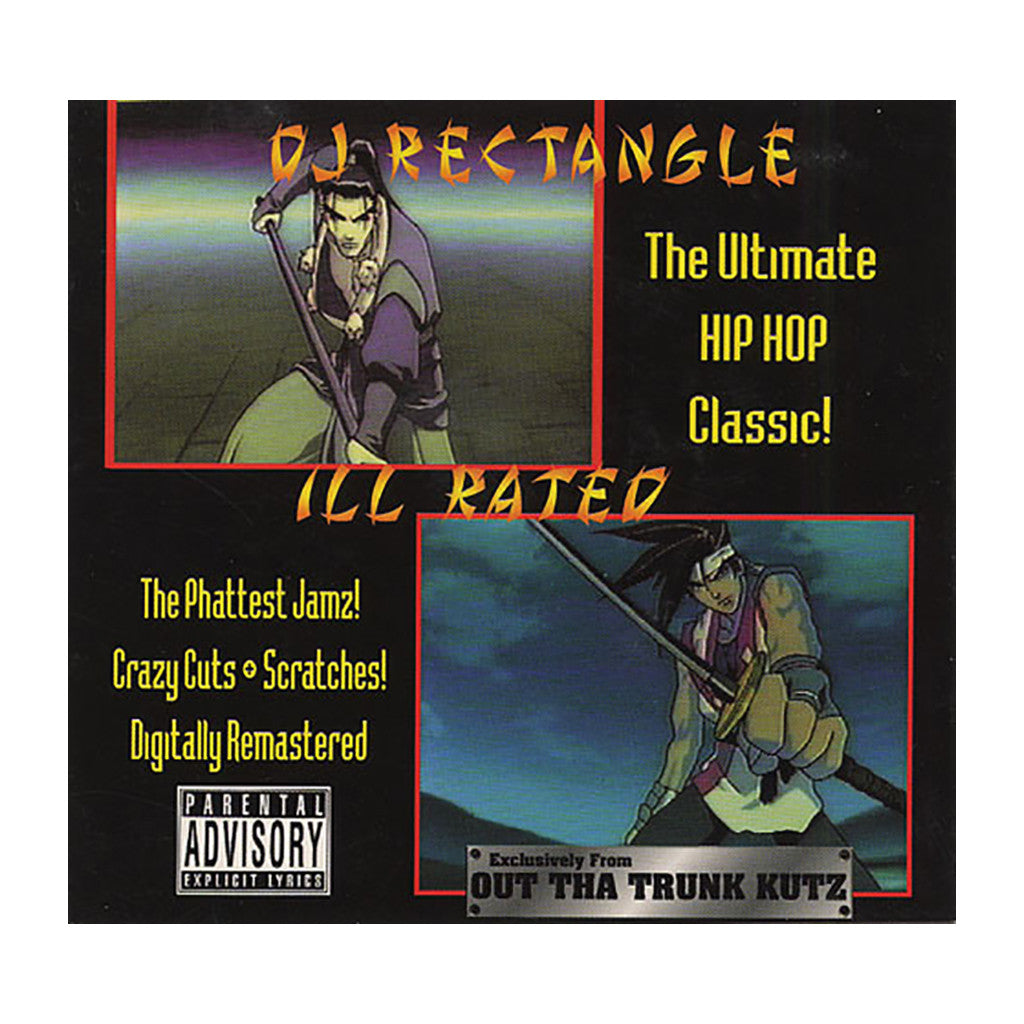 <!--019990101005739-->DJ Rectangle - 'Ill Rated' [CD]