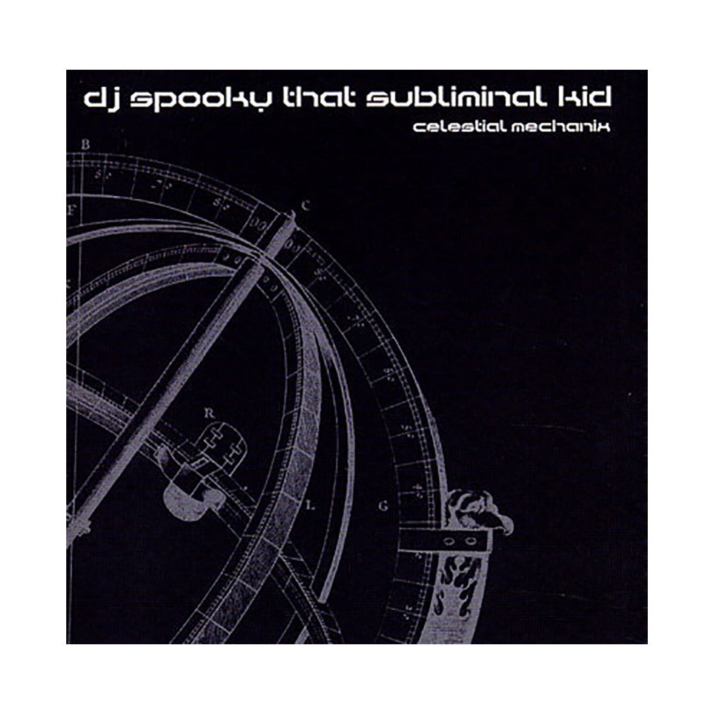 <!--020040622018017-->DJ Spooky - 'Celestial Mechanix: The Blue Series MasterMix' [(Black) Vinyl LP]