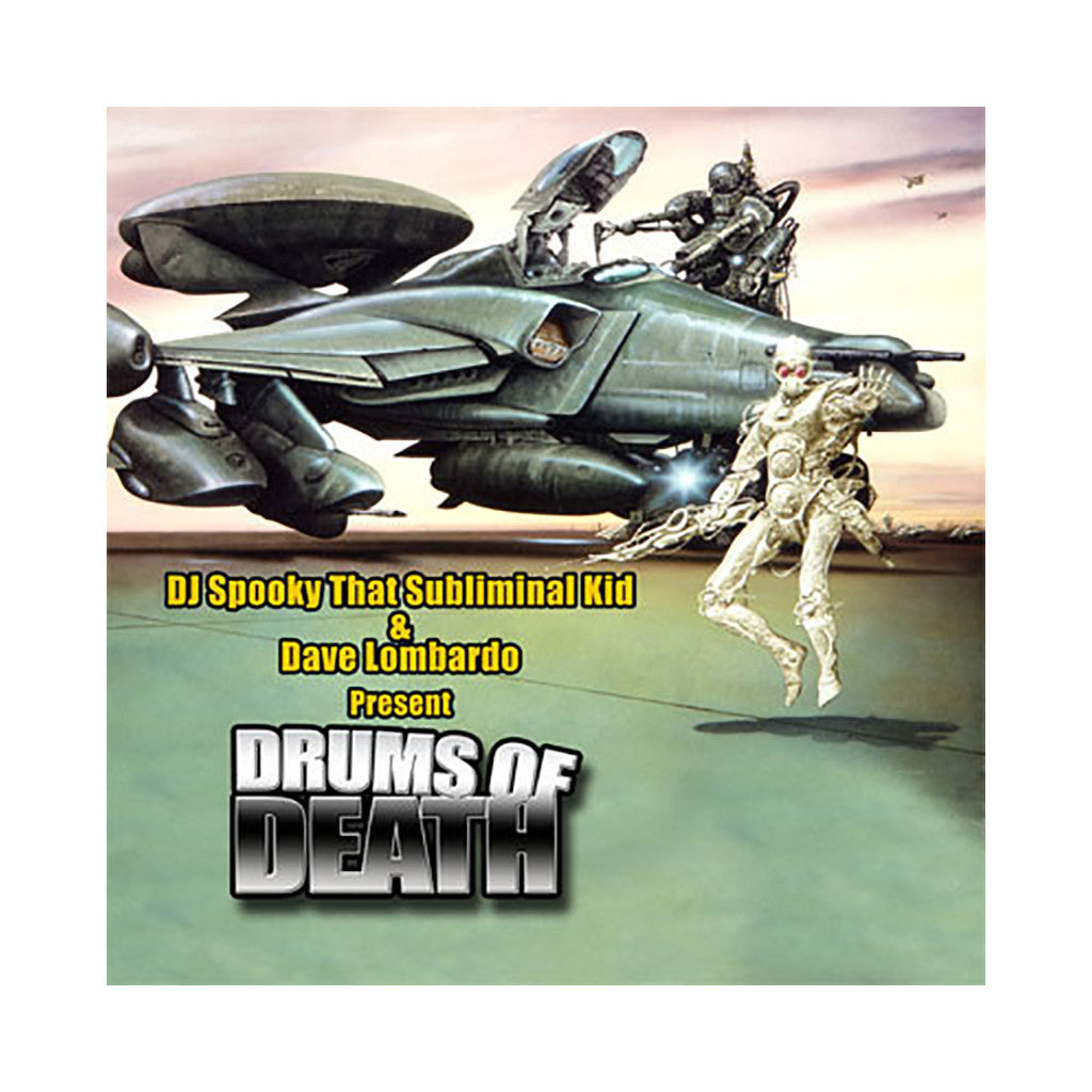 <!--2005042653-->DJ Spooky vs. Dave Lombardo - 'Drums Of Death' [CD]