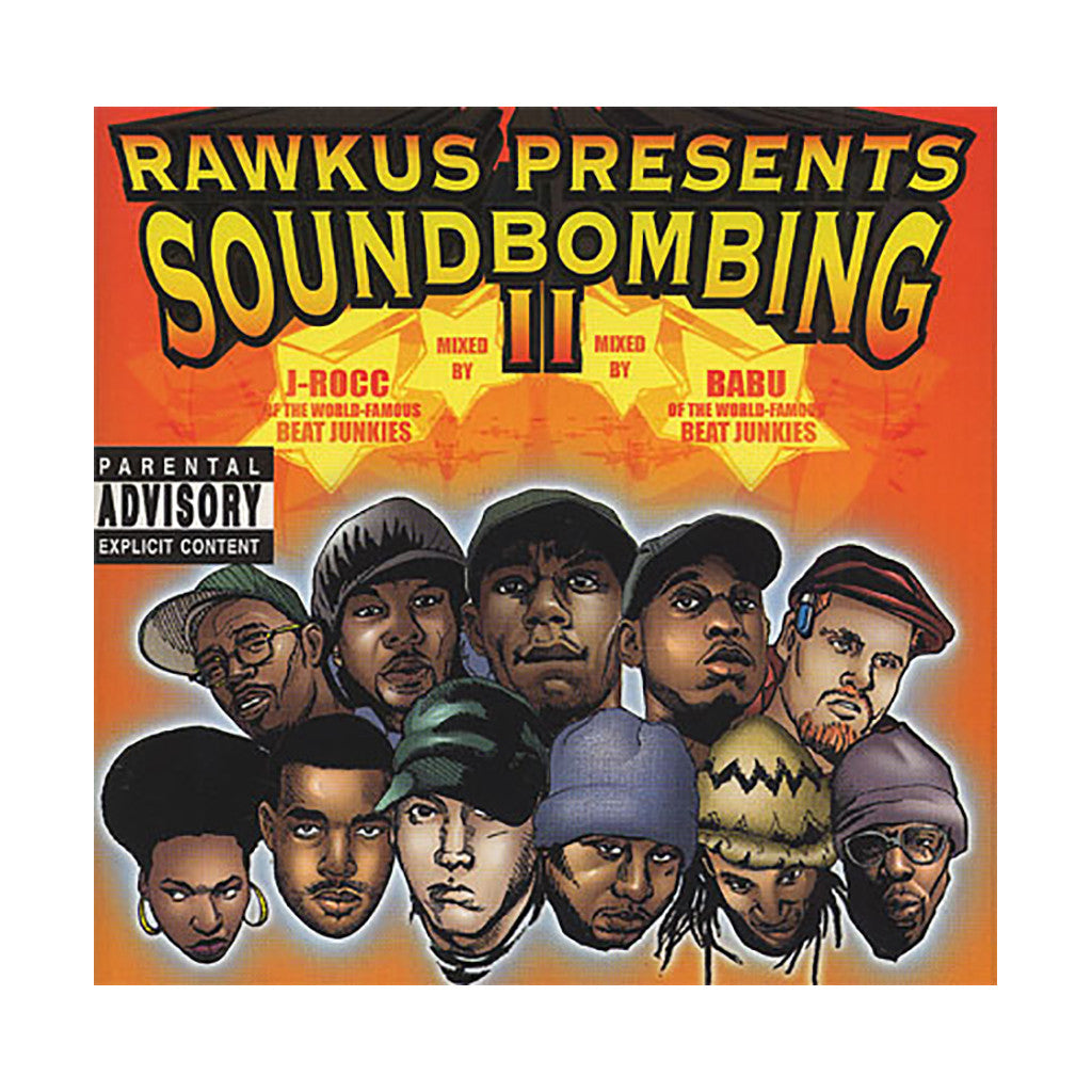 <!--019990518006175-->Various Artists - 'Soundbombing Vol. 2' [CD]