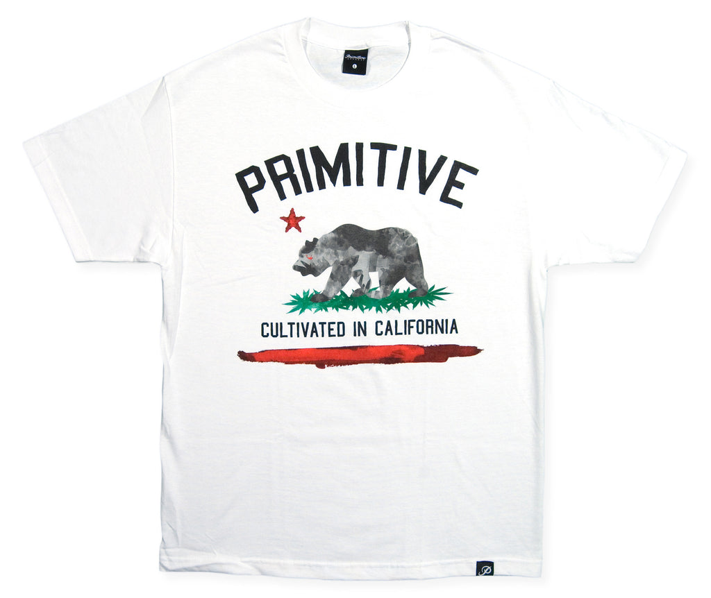<!--2013121207-->Primitive - 'Cultivated Paint' [(White) T-Shirt]