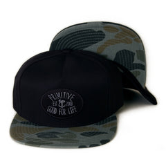 <!--020131212061507-->Primitive - 'Set Sail' [(Black) Strap Back Hat]