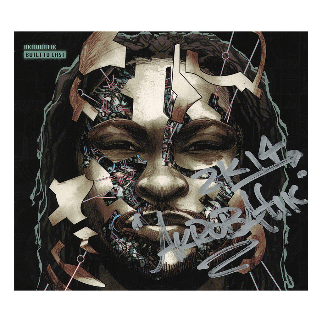 Akrobatik - 'Built To Last (Autographed)' [CD]