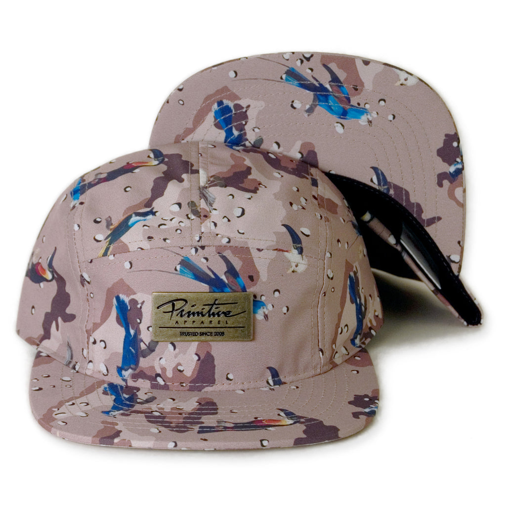 <!--020140226062769-->Primitive - 'High Desert' [(Camo Pattern) Five Panel Camper Hat]